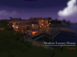 Modern Luxury House - Topaz Minecraft Map & Project