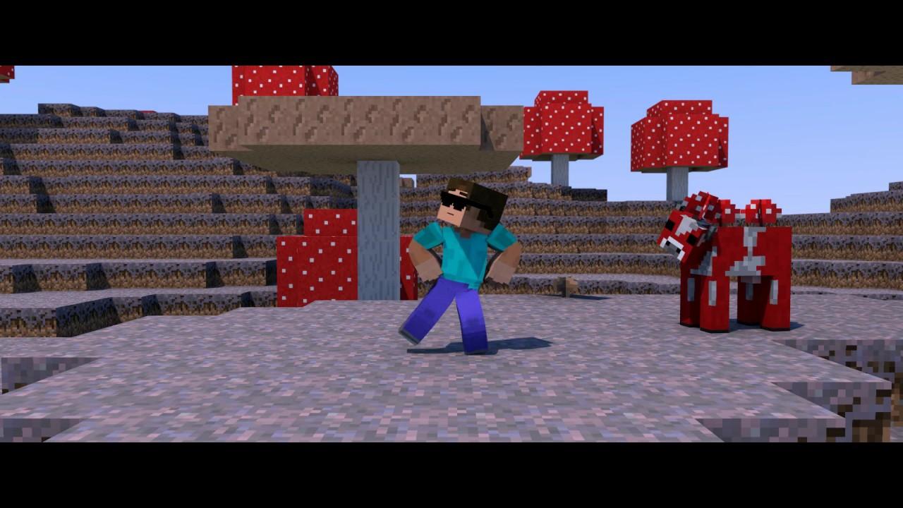 Minecraft gangnam style a minecraft parody of psys gangnam style