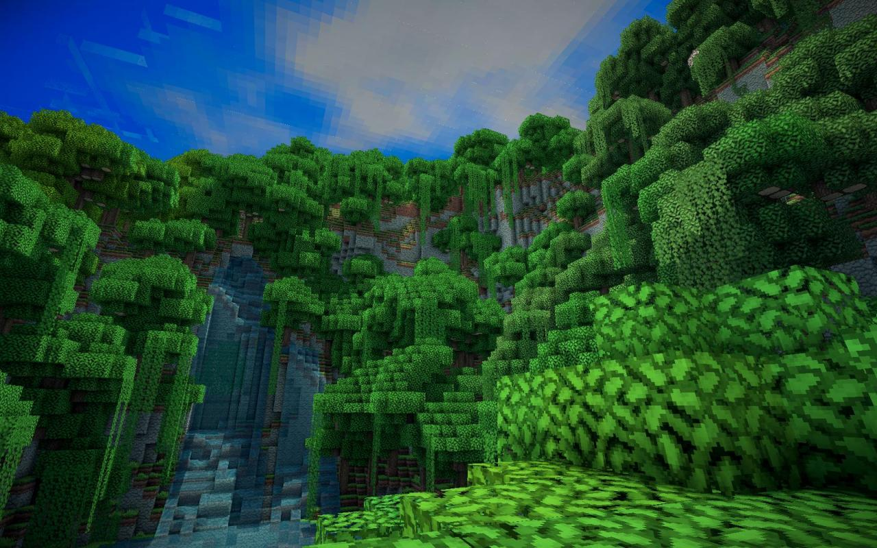 minecraft how to find a jungle