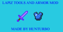 Lapiz Tools and Armor V 1.0 (1.3.2) ModLoader Minecraft Mod