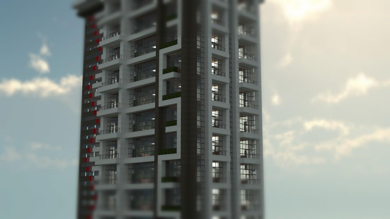100 Floor Building Elevator Malutki Domek Domy Bez