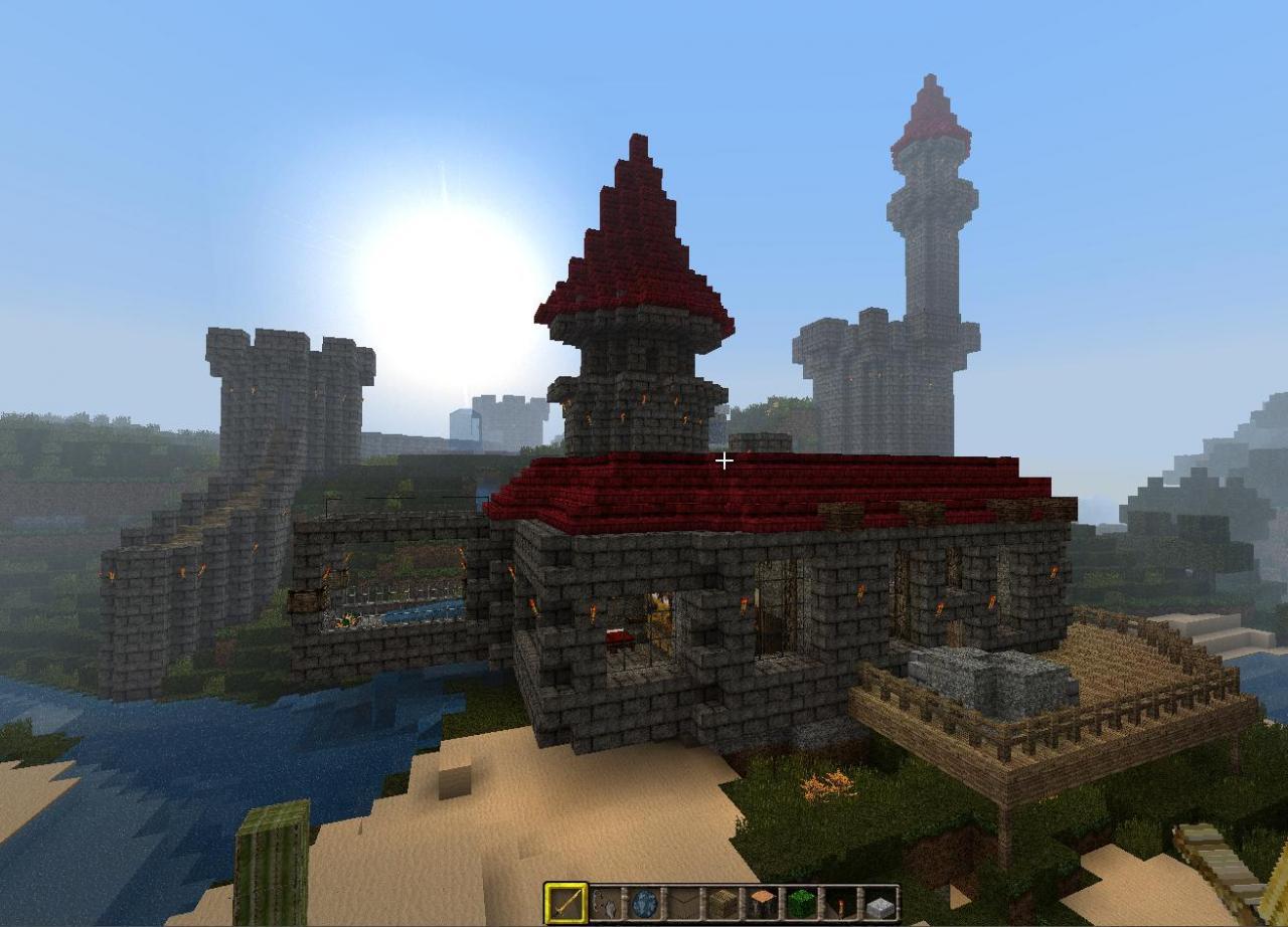 Jag's Minecraft Castle/ Mansion Minecraft Project