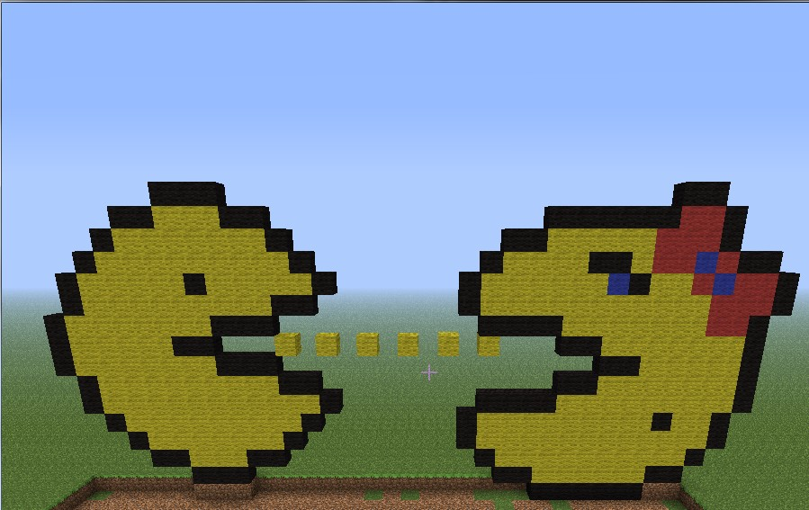 Mr And Mrs Pac-man Minecraft Project