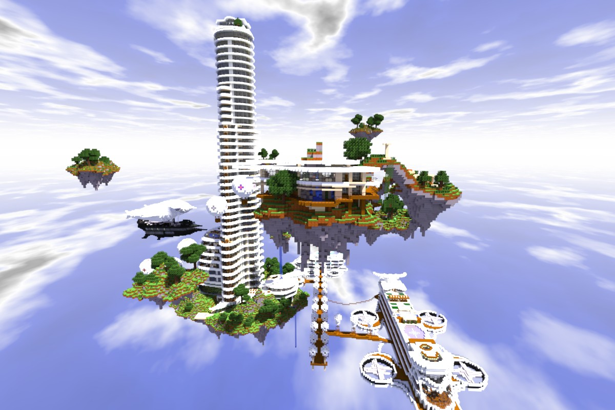 A great view of the most fabulous hotel in the sky!