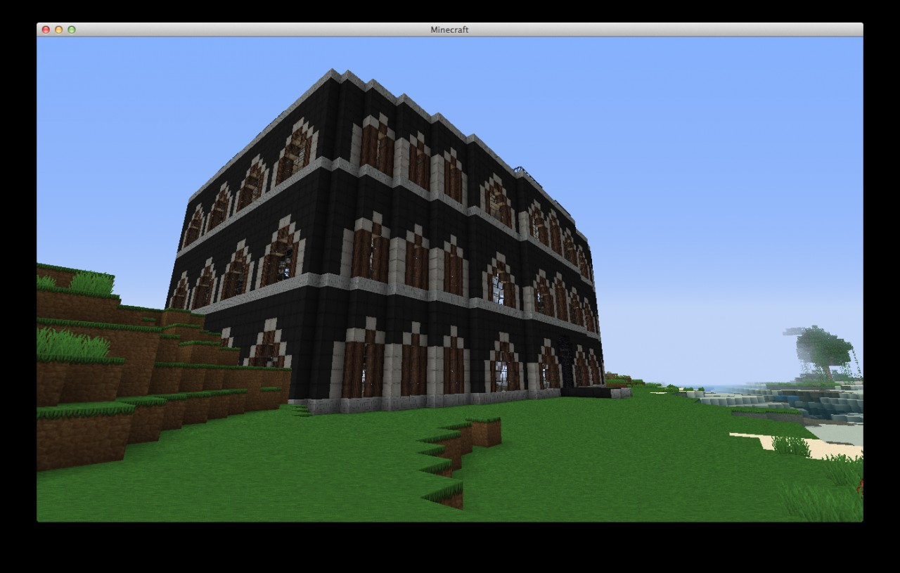 Fancy Building Minecraft Project