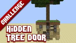 Hidden tree-door Minecraft Map & Project