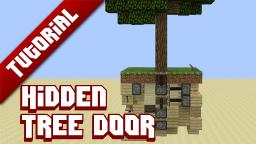 Tutorial - Hidden tree door Minecraft Project