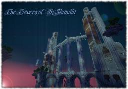 The Towers of Ik'Shandia (Steampunk Factory and Hotel) Minecraft Map & Project