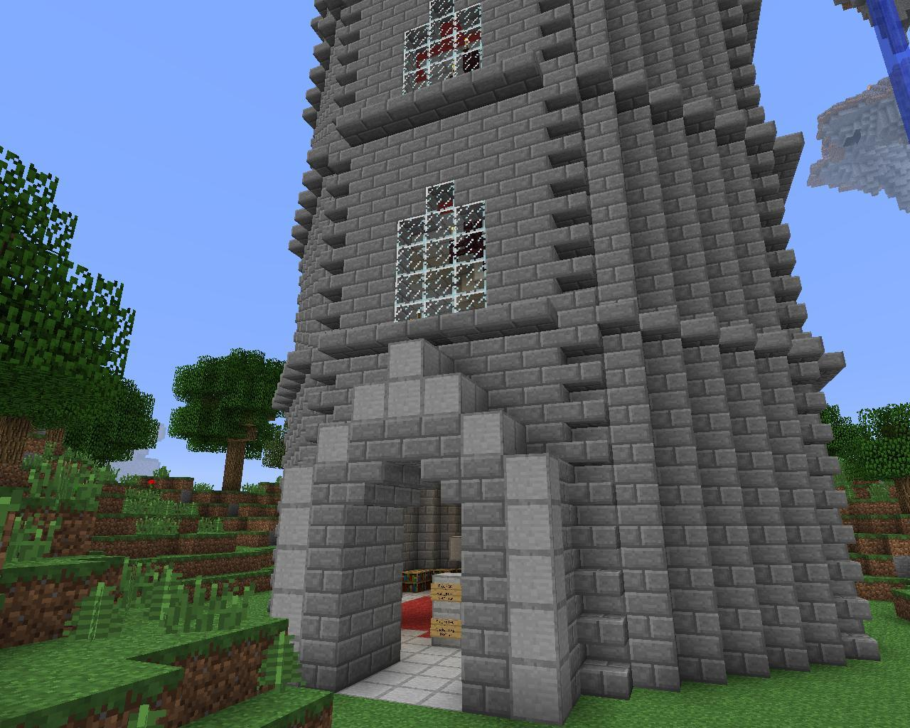 The celestial tower minecraft project