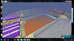 The Spleef Arena Minecraft Map & Project