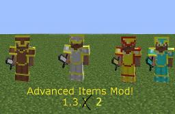 Advanced Items Mod [UPDATED TO 1.6.4] Minecraft