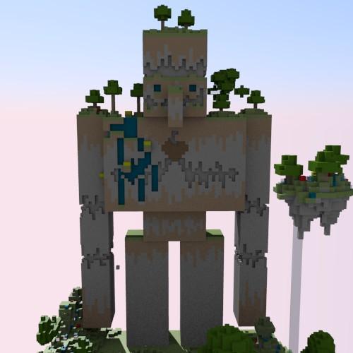 Nature Golem Sky Limit Project Contest Minecraft