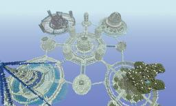 Sky Kingdom Minecraft Map & Project