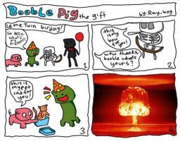 COMIC-booble pig 1 Minecraft Blog Post