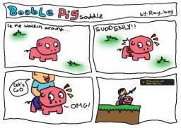 COMIC booble pig 2 Minecraft Blog Post