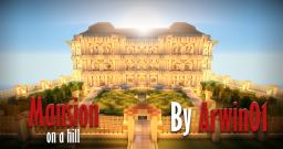 Mansion on a hill [download!] Minecraft Map & Project