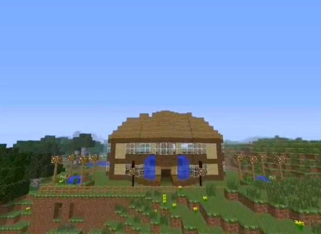 Modernist Wooden House 2 Modern Wooden House 2 Diamonds