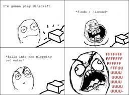 Minecraft? FUUUUUUUUUUUU!!! Minecraft Blog Post