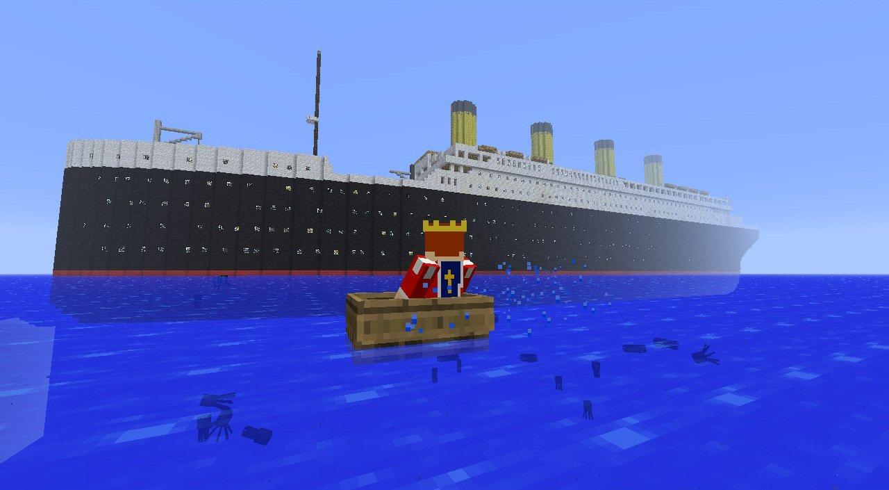 Where did the Titanic sink