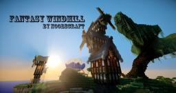 Rotating Fantasy Windmills Minecraft Map & Project