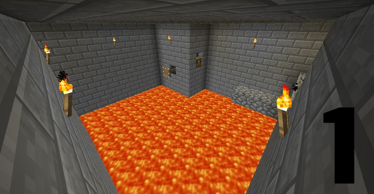 Minecraft 1.5 - adventure map - the challenger - 1.2