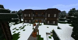 4 Room winter cottage Minecraft Map & Project