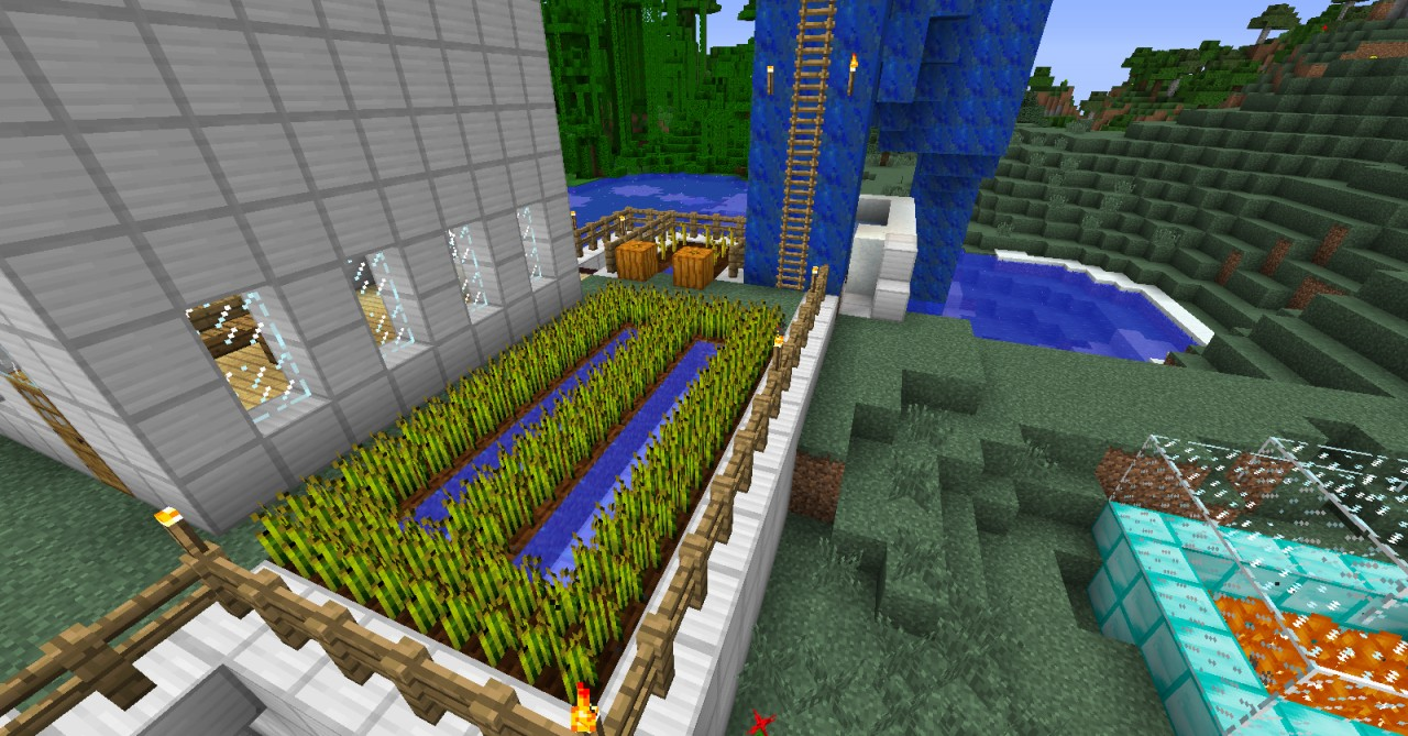 minecraft how to start a map