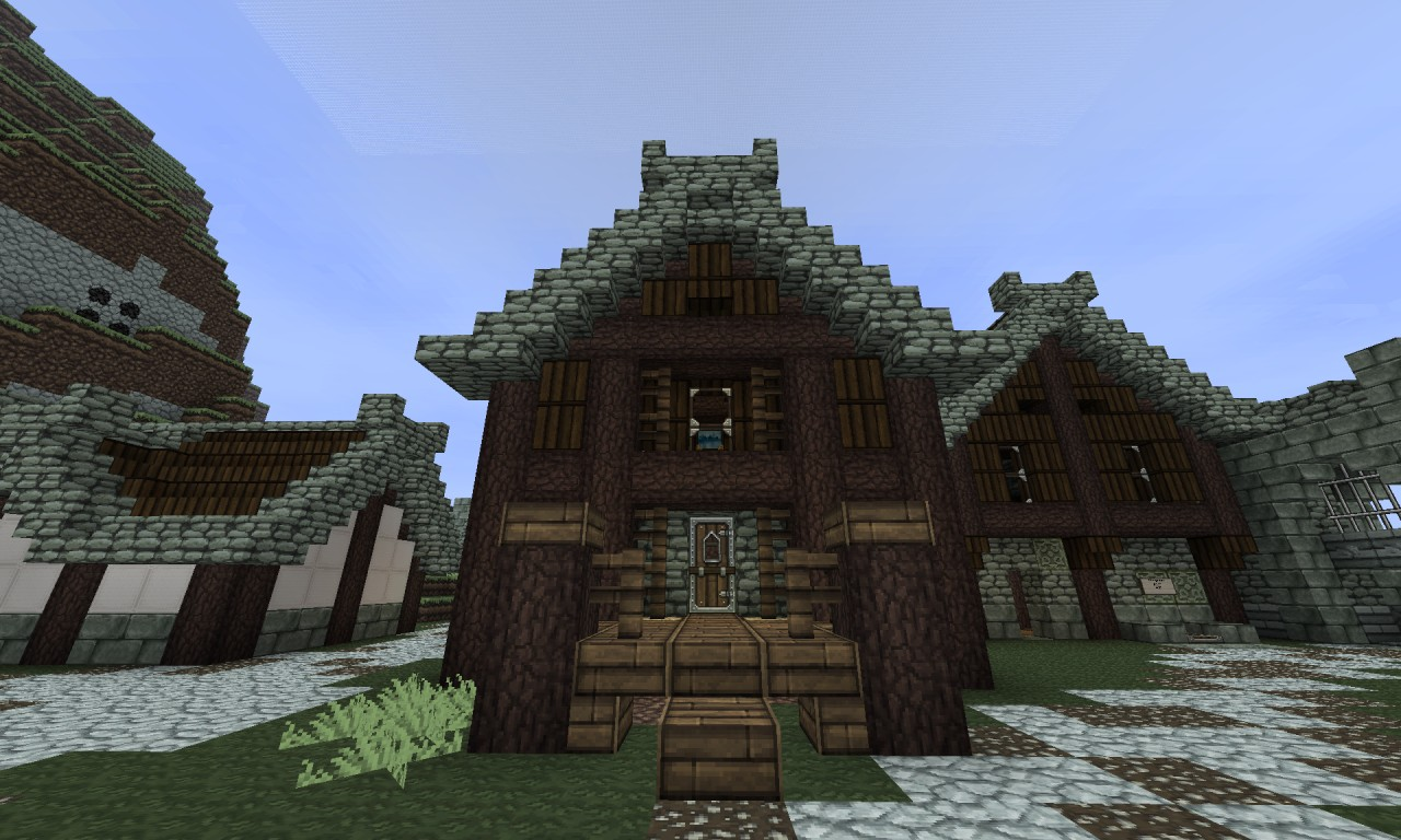 Fortified houses minecraft project for Fortified house plans