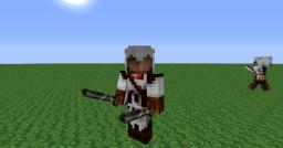 AssasinsCraft characters with Custom NPC's Mod Minecraft Map & Project