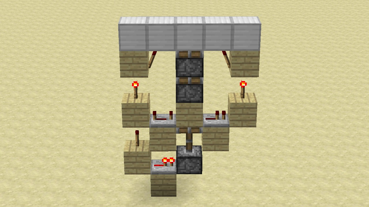 Double Piston Extenders Wall Ceiling Floor Minecraft Project