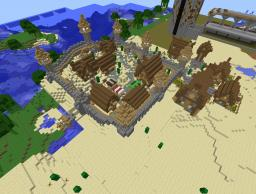 Desert town of Shaylee Minecraft Map & Project