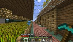 AWESOME/FREEBUILD SERVER WITH STARTER HOUSES!!!! AND MEAT FARMS! Minecraft