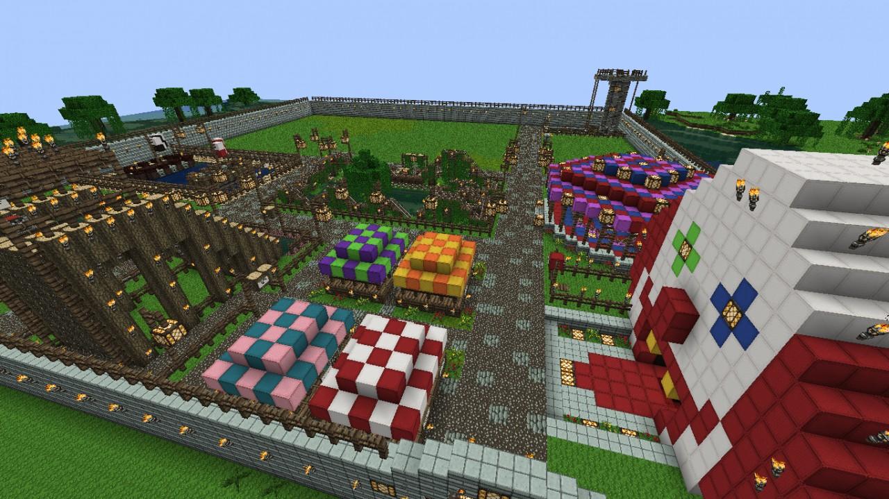 Jokis Amusement Park Fun Map Closed Project Minecraft Project