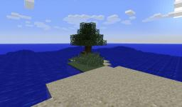 Island Survival. Minecraft