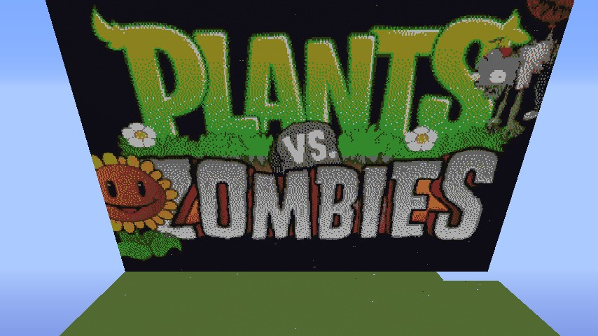 Pvz Plants V Zombies Pixel Art Re Uploaded Minecraft Project