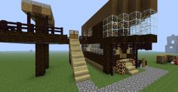 Epic Modern House :) {Non Decore} Minecraft Map & Project