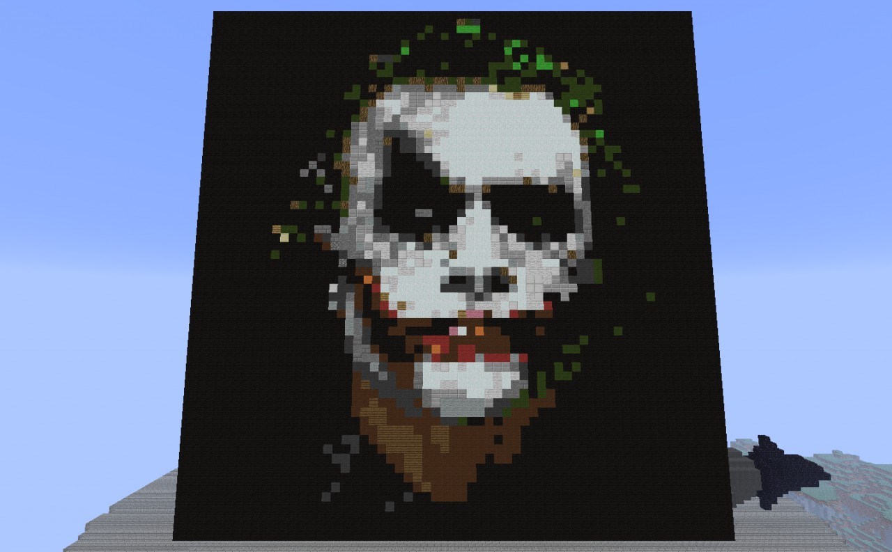 The Joker....Why So Serious?!? Minecraft Project