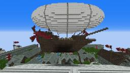 Dual Balloon Airship Minecraft Map & Project