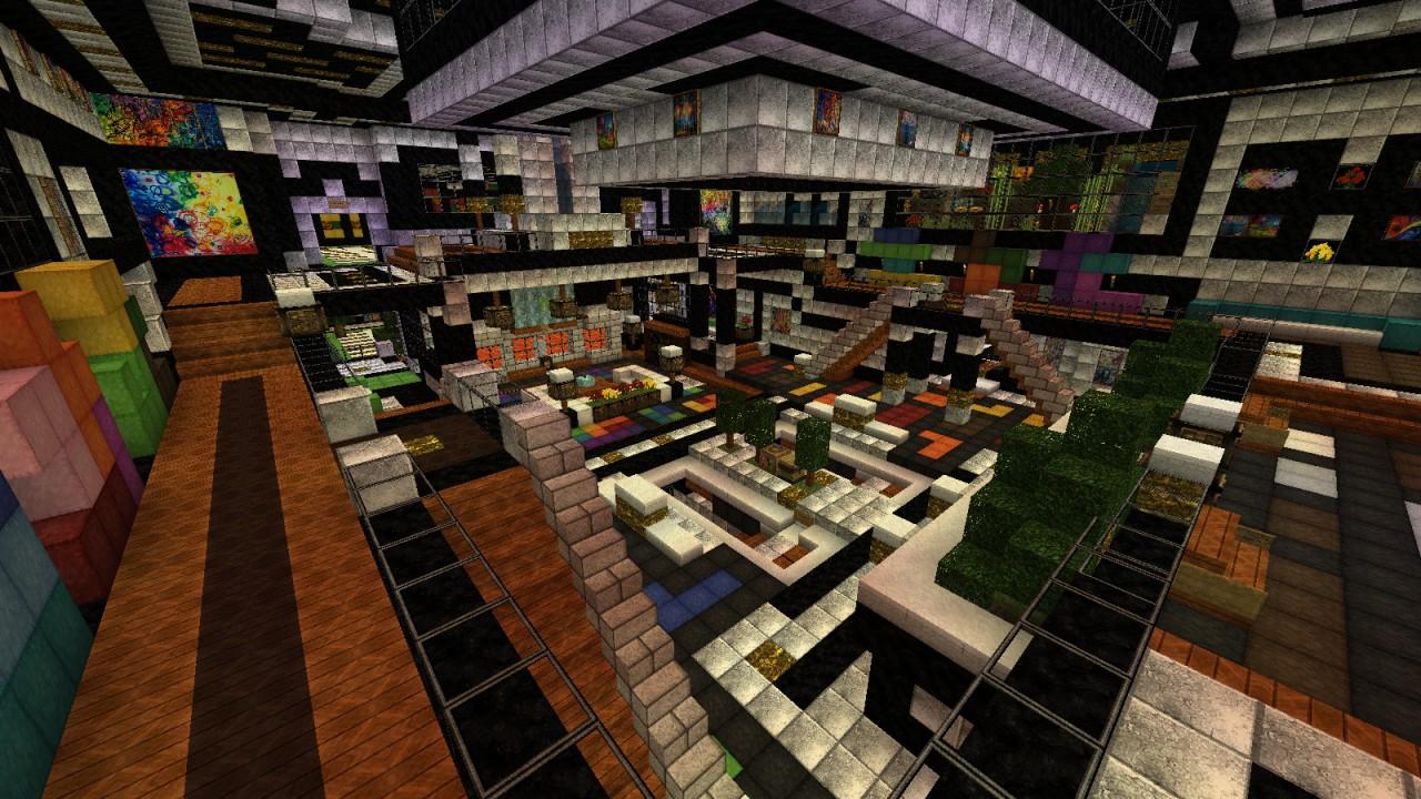 Ultimate Underground Base Minecraft Project
