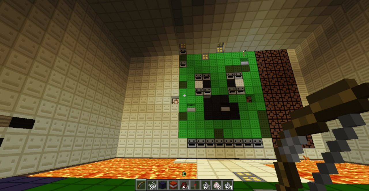 minecraft how to make a boss fight