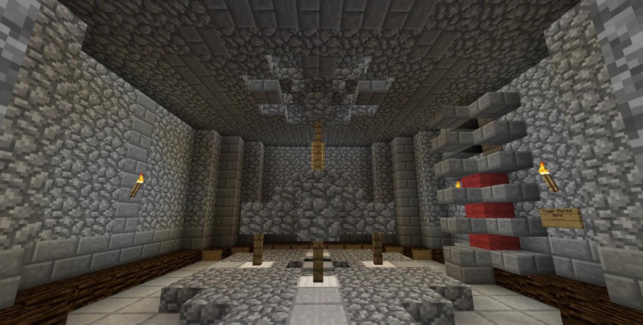 Minecraft Fire Temple