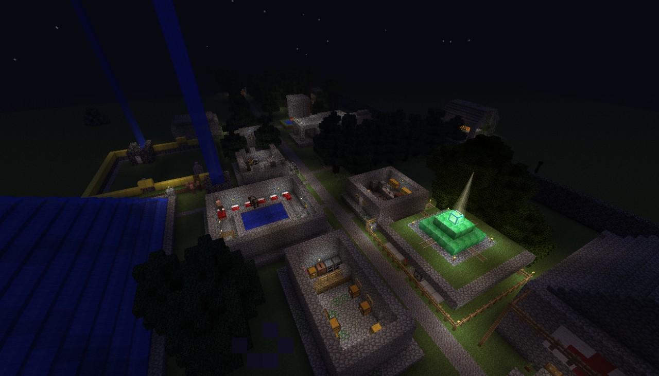 Ancient Temple Village Area