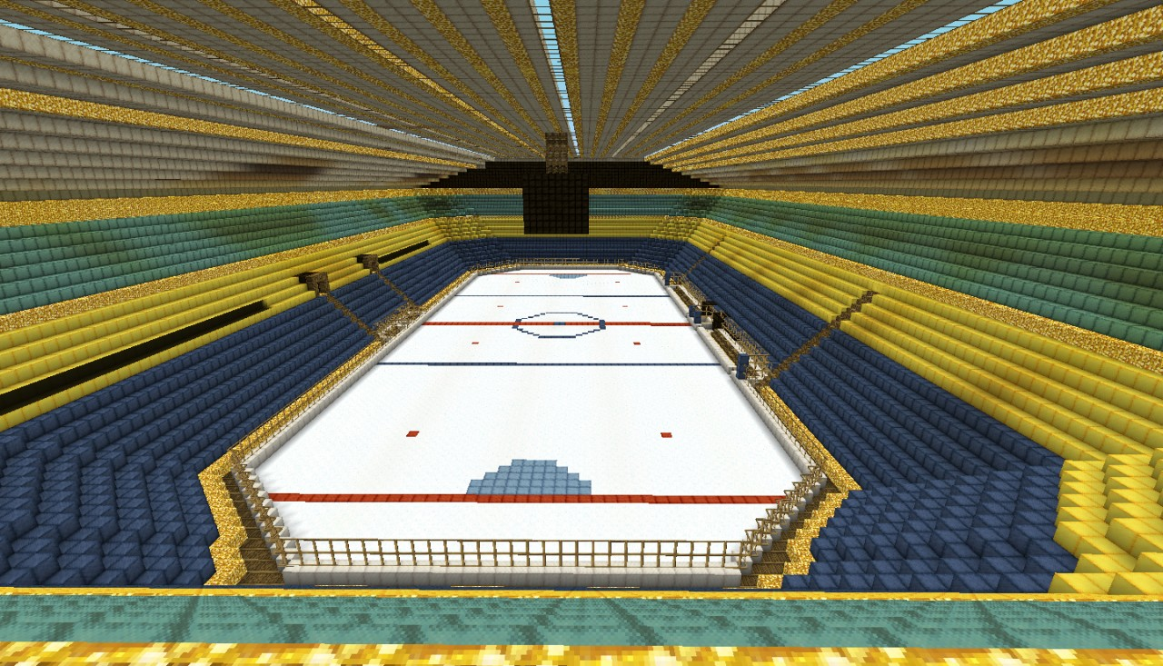 how to build a hockey arena