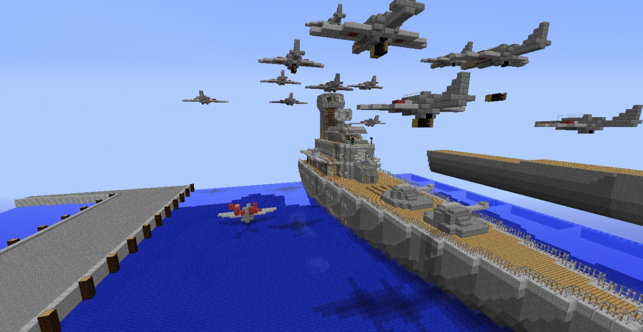 Pearl Harbor Build Minecraft