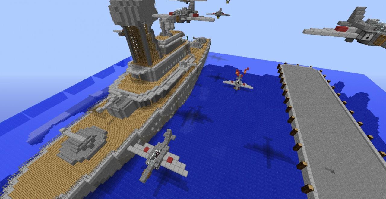 Pearl Harbor Build Minecraft