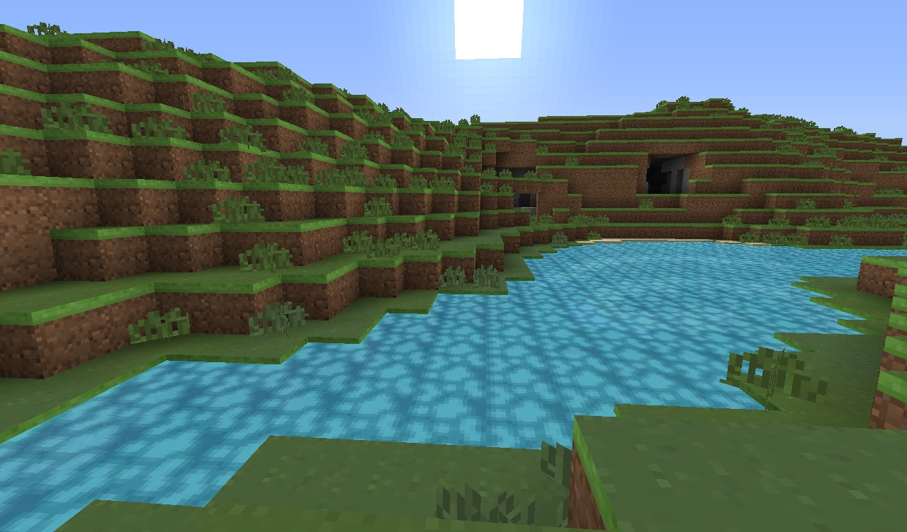 Amazing Minecraft scenery with the realistic new textures!