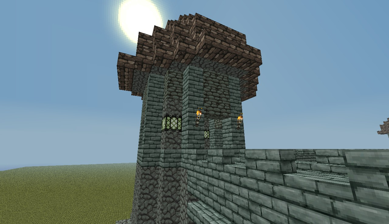 Minecraft Medieval Castle Minecraft Project