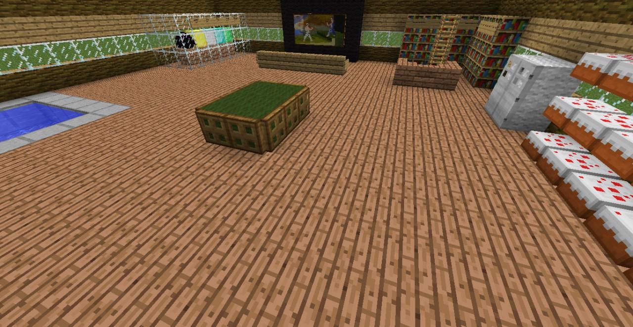 Minecraft Man Cave Ideas : Man cave minecraft project