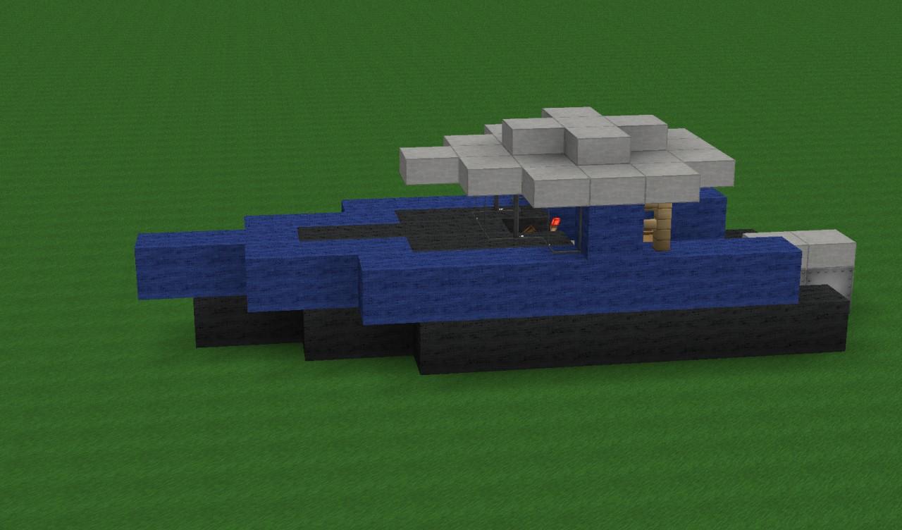 моторная лодка майнкрафт #8