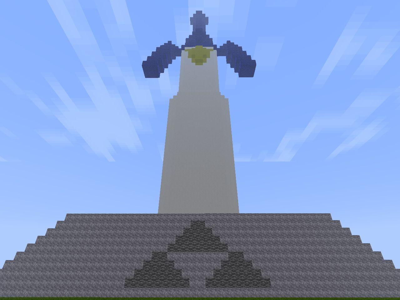 the master sword legend of zelda ocarina of time